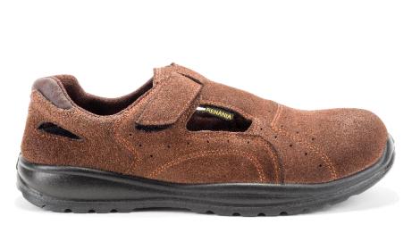 Sandale de protectie cu bombeu din compozit si lamela antiperforatie non-metalica NEW CAIRO S1P SRC, art.A027 ( 2013N )
