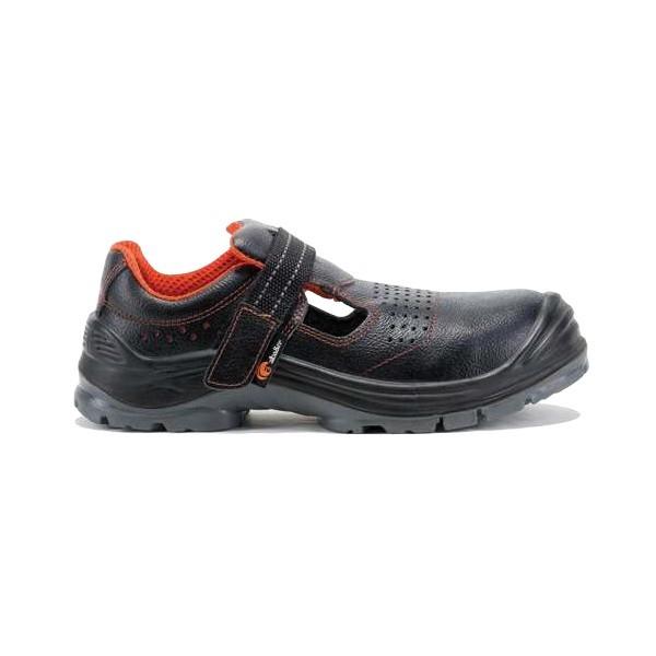 Sandale de protectie cu bombeu din compozit si lamela antiperforatie, art.A143 SAGO S1P SRC ( 2270 )