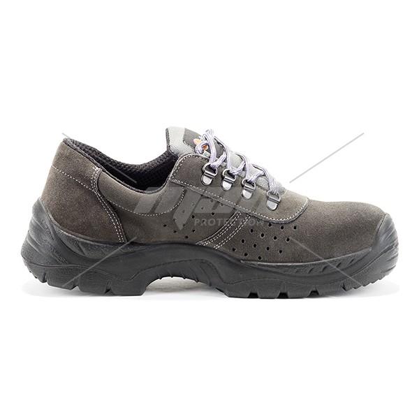 Pantof de protectie cu bombeu metalic si lamela antiperforatie, art.A122 NILE S1P SRC ( 2242 )