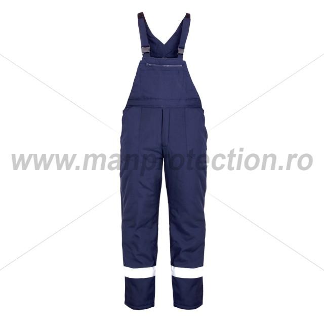 Pantalon de iarna cu pieptar Pilzen, art.2B82 ( 9062 )