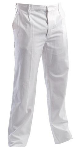 Pantalon standard alb Teo White, art.3B76 ( 90812A )