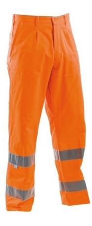 Pantaloni talie de inalta vizibilitate AVX, art.34B7 AVX02204