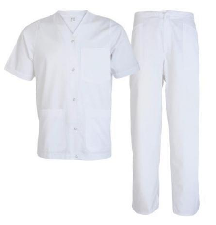 Costum alb industria alimentara Tina, art.3B99 ( 90832 )