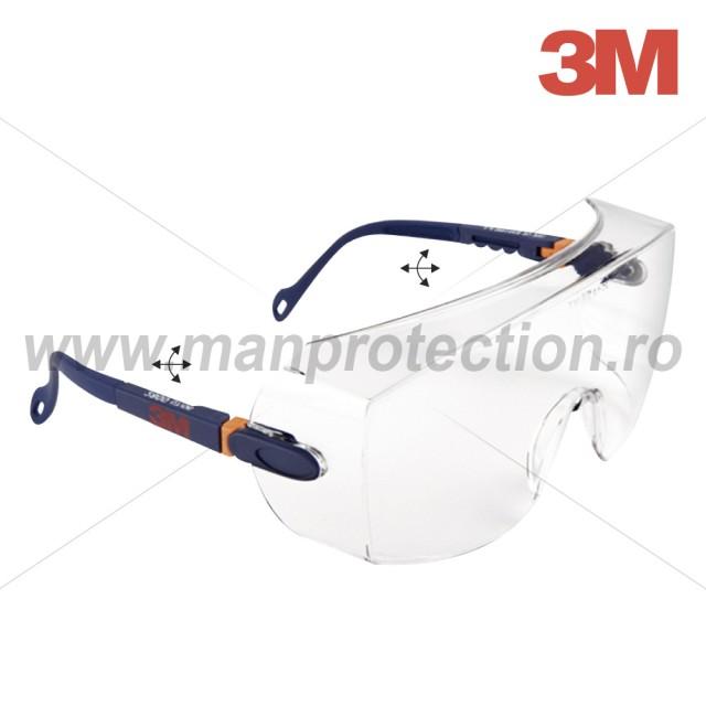 Ochelari de protectie cu lentila incolora, art.D304 (3M) ( 2800 )