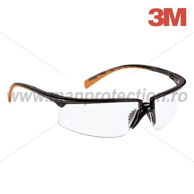 Ochelari de protectie Solus cu lentila incolora, art.D910 (3M) ( 8025 )