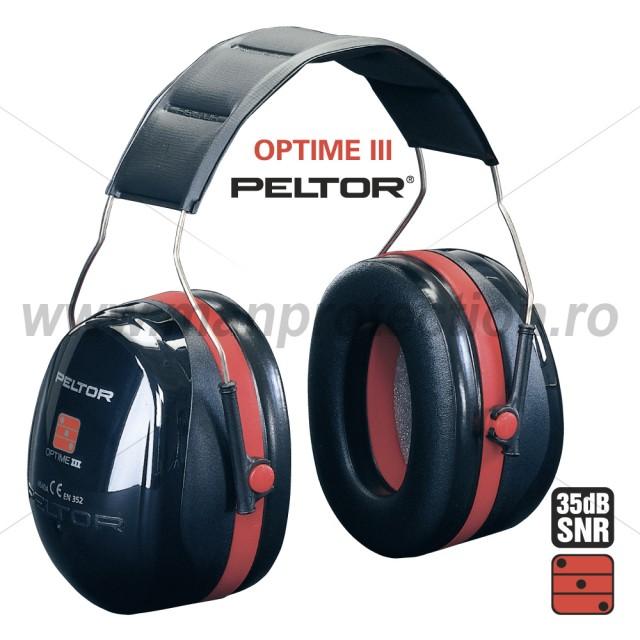 Antifoane externe cu banda pentru fixarea pe cap, art.D177 (Peltor) ( 2647 )