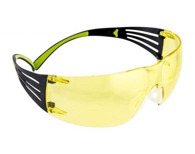 Ochelari de protectie 3M SECURE FIT cu lentile galbene, art.13D8 ( SF403 )