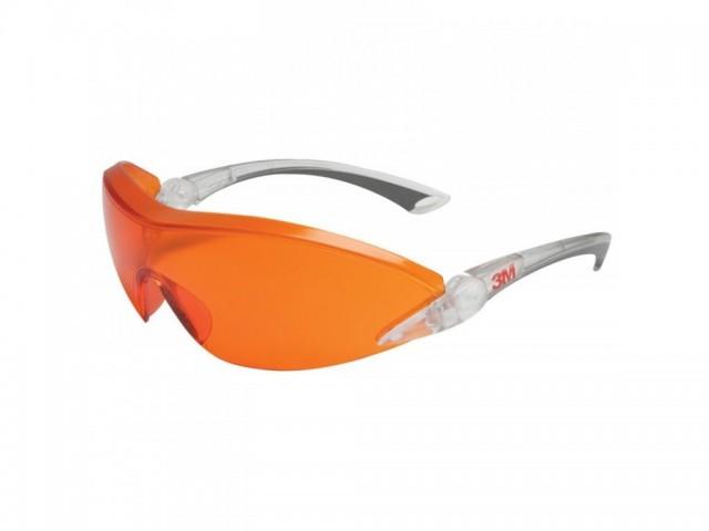 Ochelari de protectie 3M COMFORT cu lentile rosu-orange, art.D315 ( 2846 )