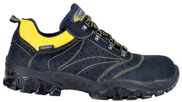 Pantof de protectie cu bombeu metalic NEW-ARNO S1, art.1A53