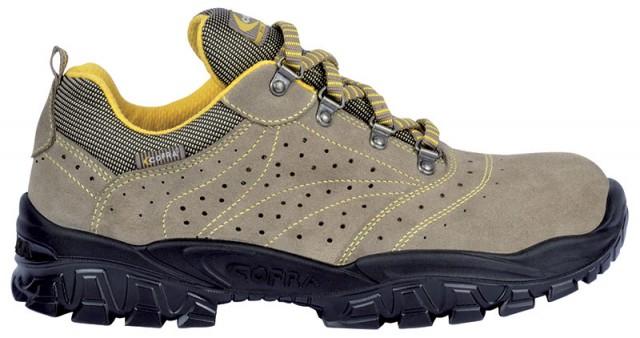 Pantof de protectie cu bombeu metalic si lamela antiperforatie NEW-NILO S1P , art.1A82