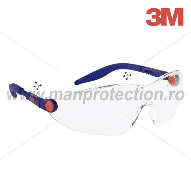 OCHELARI DE PROTECTIE COMFORT CU LENTILA INCOLORA, ART.D291 (3M) ( 2740 )