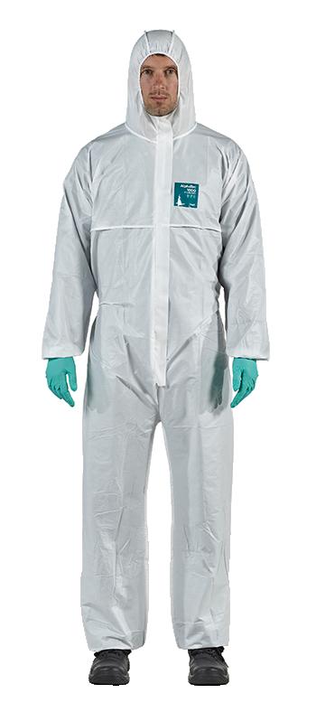Combinezon protectie chimica AlphaTec® 1800 STANDARD - Model 111 9B48
