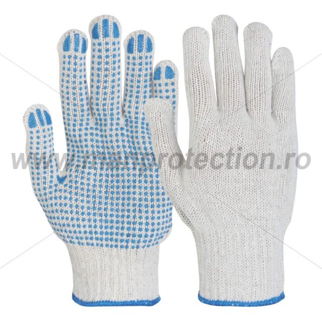 MANUSI DE PROTECTIE CU APLICATII PUNCTIFORME DIN PVC PICOU, ART.C022 ( 1040-1 )