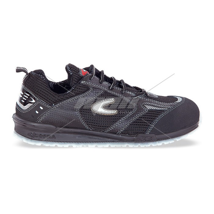 Pantof de protectie cu bombeu aluminiu si lamela, art.2A32 S1P ( PETRI )