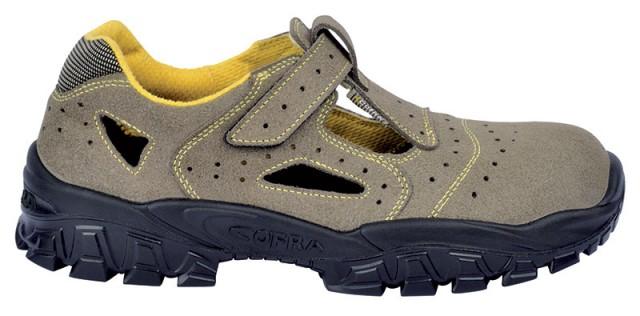 Sandale de protectie cu bombeu metalic si lamela antiperforatie NEW-BRENTA S1P , art.1A60